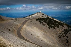 Le mont Ventoux, cher à Pétrarque...