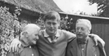 Lars Bo en compagnie de ses parents. Tous droits réservés.
