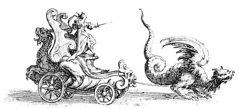"""""""Entrée de Monseigneur Henry de Lorraine, Marquis de Moy soubs le nom de Pirandre"""", Jacques Callot, 1627"""